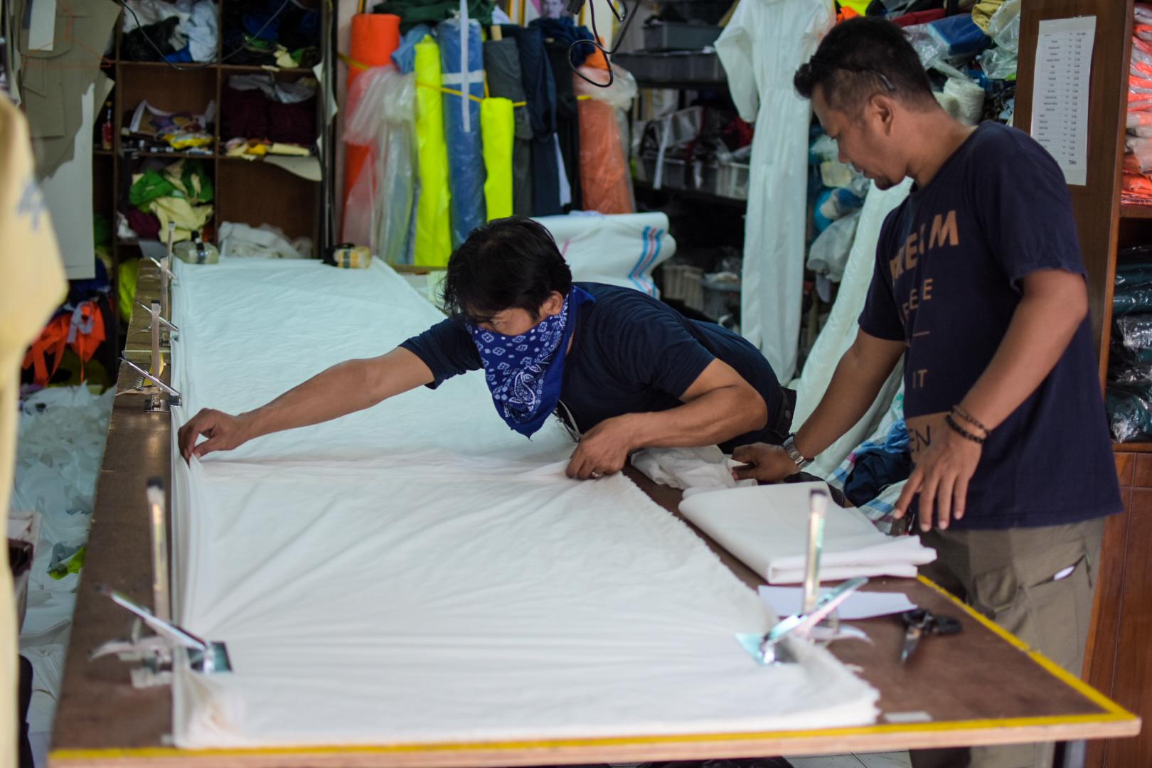 produksi baju hazmat jakarta